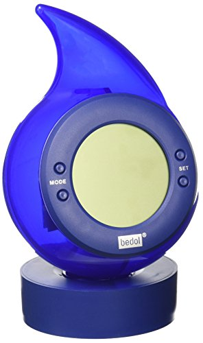 Water Powered Clock Drop, Blue