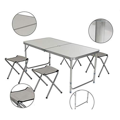Boylymia Portable Multipurpose Home Use Aluminum Alloy Folding Table