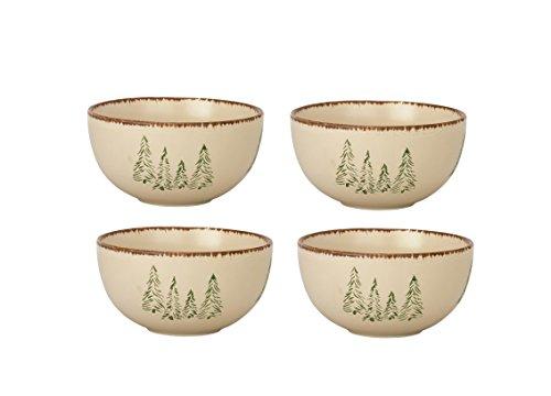 Rustic Retreat - Park Designs Rustic Retreat Cereal Bowls (Set of 4), Multicolor