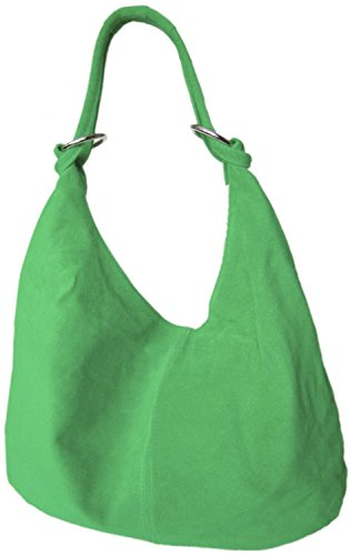 MODE DIVA Womens DIVA Shoulder MODE Black Dark Bag Green ffq1TFxw