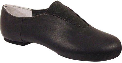Danslektion Vuxen Läder Center Gore Slip-on Jazz Shoe Black