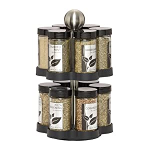 Kamenstein Madison 12-Jar Revolving Spice Rack 415CxBLHqaL