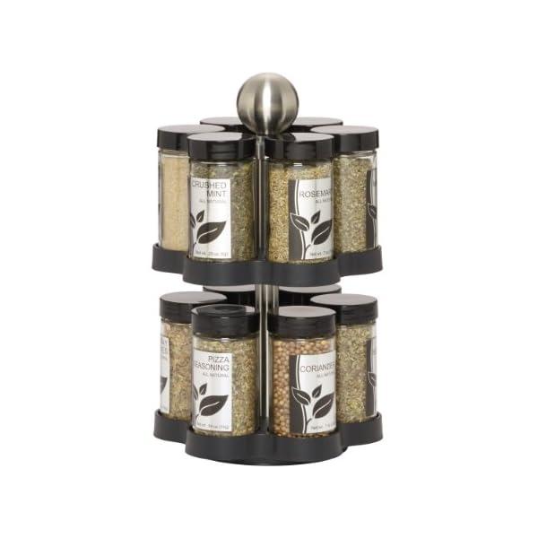 Kamenstein Madison 12-Jar Revolving Spice Rack 415CxBLHqaL