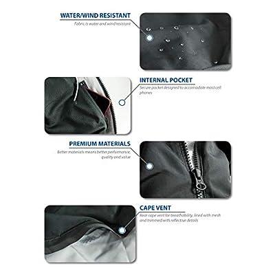 Brand - Peak Velocity Men's Zephyr Windbreaker Loose-Fit Jacket: Clothing