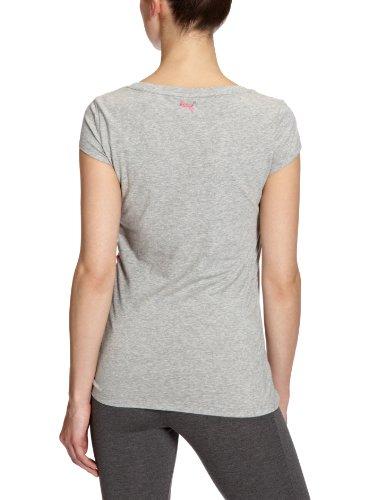 Mujer Gray Heather Athletic Puma Camiseta Heather athletic Para qTU71