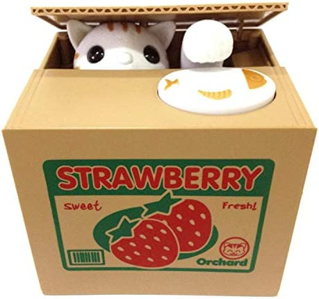 HmiL U Automatic Stealing Birthday Strawberry Cat product image