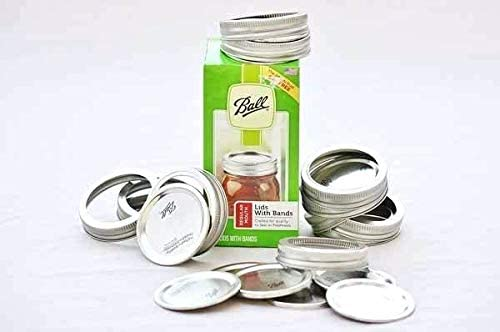 Ball Regular Mouth Lids and Bands 24 count Pack of 3