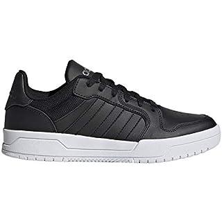 adidas Women's Grand Court Sneaker (Core Black/Core Black/Matte Silver, Numeric_7)