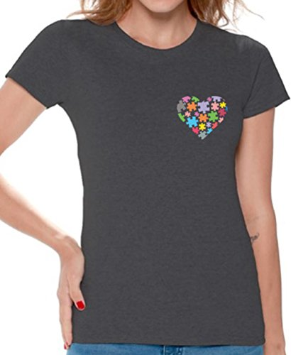 Awkward Styles Autism Awareness T Shirts for Women Autism Gifts for Her