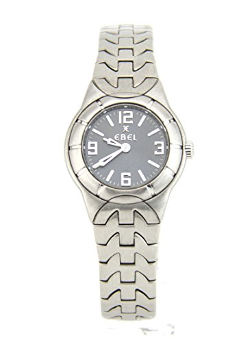 Ebel E-Type Stainless Steel Women's Watch 9157C11-3716 (Certified Pre-owned)