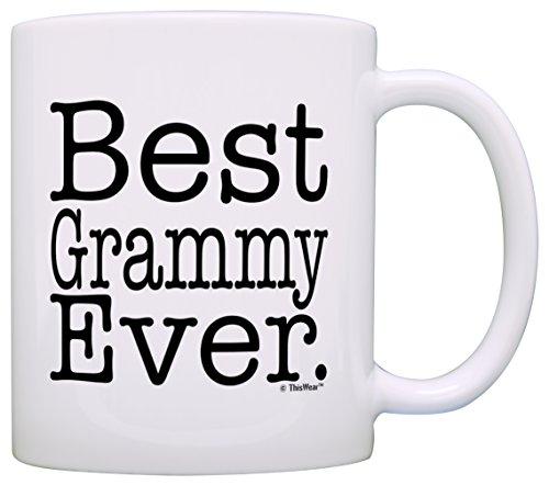Mothers Grandma Grammy Coffee White