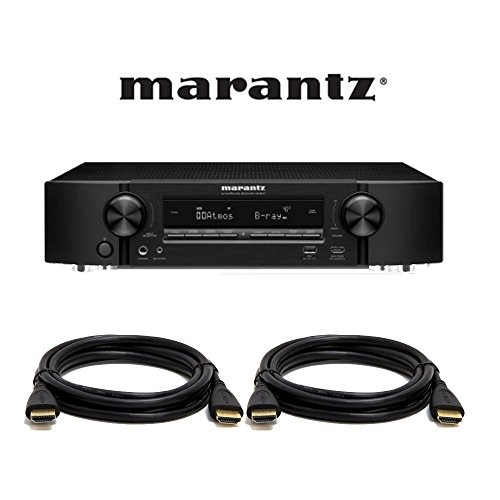 Marantz NR1607 Ultra HD 7.2  A/V Surround Receiver with 2 HD