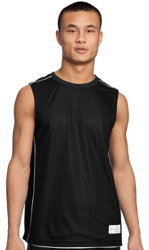 Black Reversible Sleeveless Shirt (Sport-Tek - PosiCharge Mesh Reversible Sleeveless Tee. T555 - Black_XL)