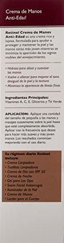 Skincare LdeL Cosmetics Retinol Hand Cream, 3.52-Ounce Tube