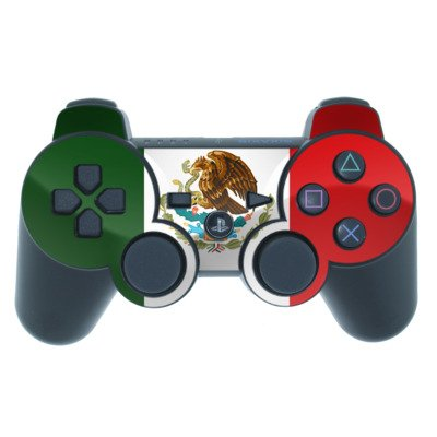 Mexican Flag Design PS3 Playstation 3 Controller Protector Skin Decal Sticker
