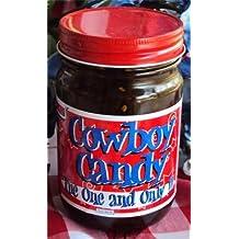 WHH Ranch Cowboy Candy Sweet Hot Jalapenos 12oz Jar (Pack of 3)