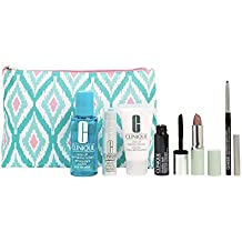 2017 NEW Clinique 7pc Skincare Makeup Gift Set Sculptwear Lift and Contour Serum for Face and Neck & More! ($75 Value)