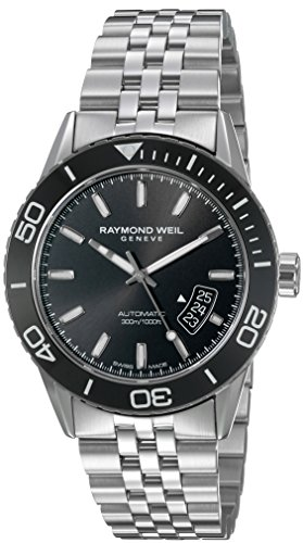 Raymond-Weil-Mens-Freelancer-Swiss-Automatic-Stainless-Steel-Casual-Watch-ColorSilver-Toned-Model-2760-ST1-20001