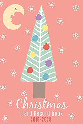 Christmas Card Record Book 2019 2028 10 Year Address List Mailing Tracker Sent And Received Christmas Cards Record Keeper Xmas Organizer And Tabbed In Alphabetical Printstudio Emma 9781698898872 Amazon Com Books