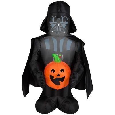 Inflatable Airblown Disney Darth Vader with Pumpkin - 3.5 Ft. - Indoor/outdoor