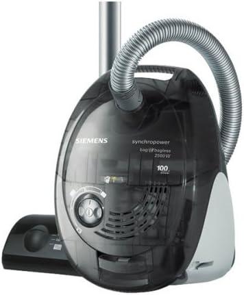 Siemens Vs06G2510 - Aspirador dual, 2500W, 4 L, color negro: Amazon.es: Hogar