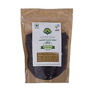 Aaharved Organic Rajma Jammu (Small size beans) , 1 KG (35.27 OZ) -USDA certified