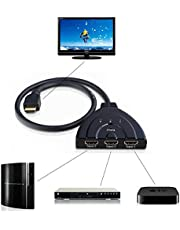 3 PORT HDMI 1080P Switcher Switch Splitter for HDTV DVD Xbox 360 3PORT