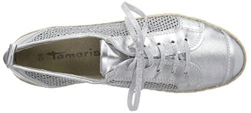 silver Silber Plateado Tamaris 927 Alpargatas 23625 Mujer Struct AnTvq