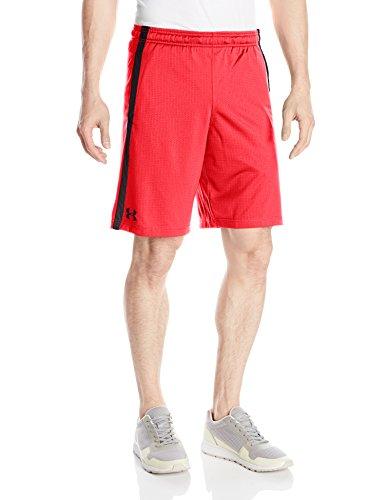 Under Armour Men's Tech Mesh Shorts, Marathon Red/Anthracite, XX-Large