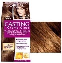 L Oréal Casting creme gloss ricos miel 734