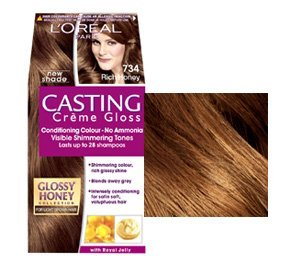 L'Oreal Casting Creme Gloss Rich Honey 734: Amazon.co.uk: Health ...