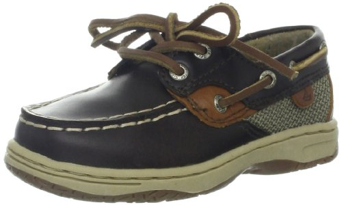 Sperry Top Sider Bluefish Brown Infants Casual Shoes SZ 10.5 UK