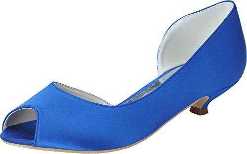 Femme 36 Ouvert Bout 5 Nice Find Bleu Bleu qxgZzwxptn