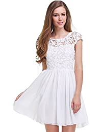 Amazon Com Fit Flare Wedding Dresses Wedding Party