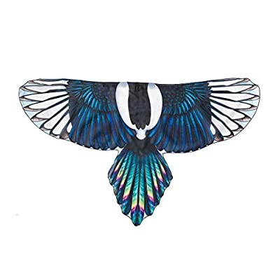 """HearthSong Brainy-Bird Fabric Wings for Dress Up Imaginative Play, 47"""" Wingspan - Magpie…: Toys & Games"""