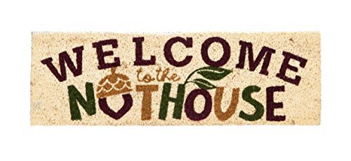 Welcome to the Nuthouse Natural Coir Interchangeable Switch Mat - 28.25