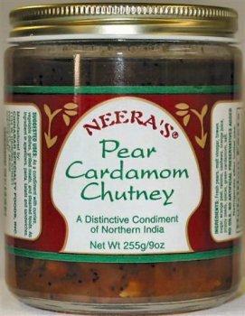 Pear Cardamom Chutney with fresh pears,orange peel and (Pear Chutney)