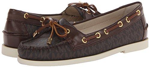 1c4da25e9773 Michael Kors Blair Moc Signature Brown Flats (Size 8.5 M) - Import ...