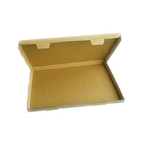 100 x C4 -320mmx230mmx20mm Cartulina Correo Caja precio en proporción (PIP) para real Correo Carta Grande Frágil artículos: Amazon.es: Oficina y papelería