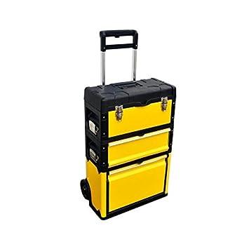 Taller carro caja de herramientas con ruedas 3 piezas de herramientas de RP: Amazon.es: Coche y moto