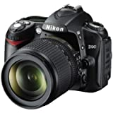 Nikon D90 SLR-Digitalkamera (12 Megapixel, Live-View, HD-Videofunktion) Kit inkl. 18-105mm 1:3,5-5,6G VR Objektiv (bildstab.) (Zertifiziert und Generalüberholt)