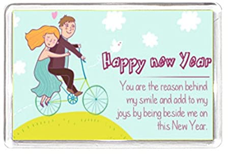 new year bike cycle bicycle boy girl love romance quote saying gift novelty
