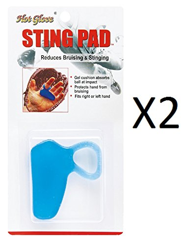 - Unique Baseball-softball Shock Sting Absorbing Gel Cushion Pad HSP-1 (2-Pack)