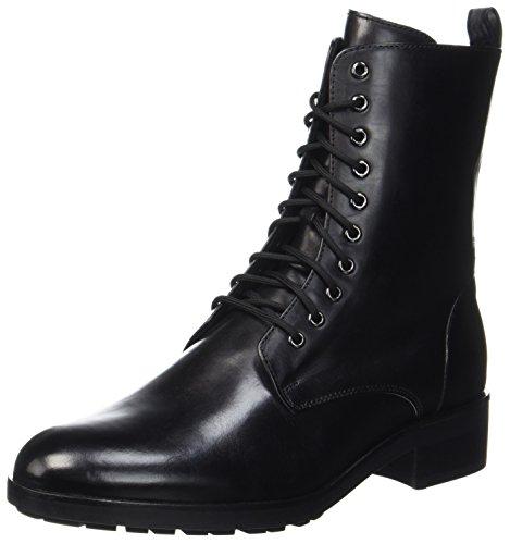 HÖGL Women's 4-10 0613 0100 Biker Boots Black (Schwarz 0100) rvePuF6lQ