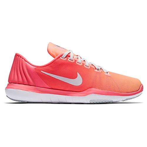 Nike Donna Flex Supreme Tr 5 Cross Training Scarpa Da Racer Rosa / Puro Platino / Bagliore Al Tramonto