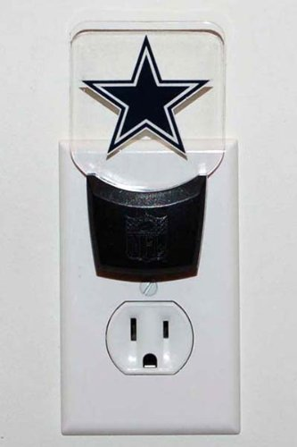 NFL Dallas Cowboys LED Night Light (Cowboys Led)