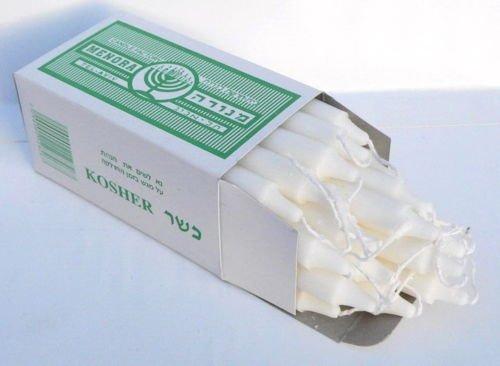 Jewish Shabbat Box 20 Kosher Candles 0.5