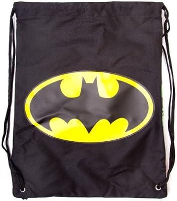 26f7e0ba77 Batman Double-Sided Gym Bag with Classic Logo and Comic Strip ...