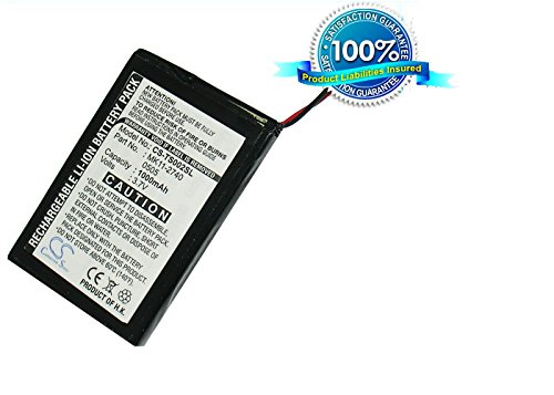 VINTRONS Rechargeable Battery 1000mAh For Toshiba MK11-2740, Gigabeat F10, Gigabeat MEGF20, Gigabeat MEGF60
