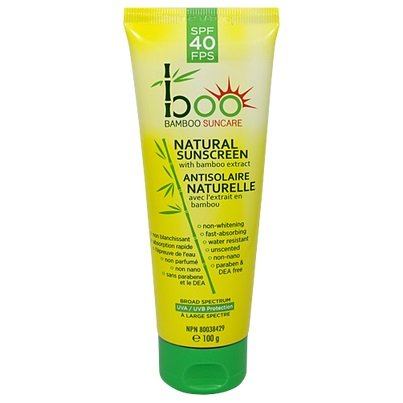 Boo Bamboo Natural Sunscreen SPF 40, 100 ml
